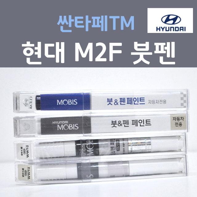 순정품 현대 싼타페TM M2F 마그네틱포스 붓펜 카페인트, 1개, 8ml