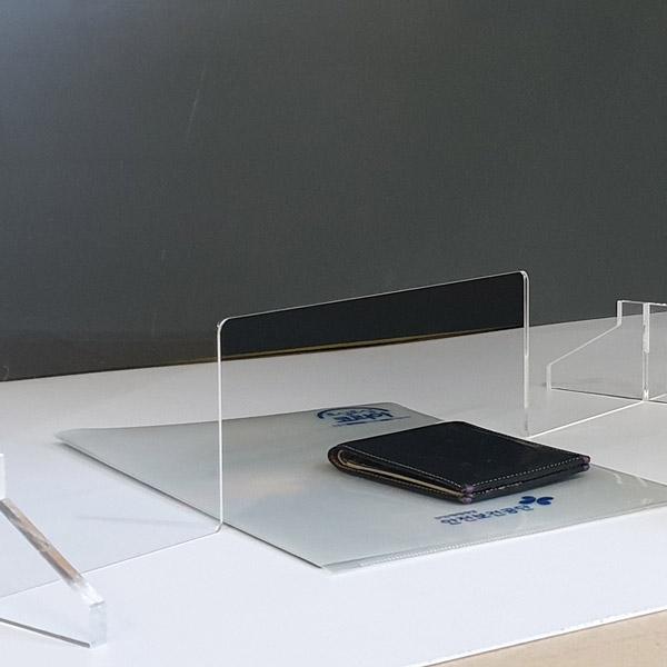 상담창구 칸막이 60X60cm 3티 투명 가림판 칸막이 비대면 가림막, 대형 상담창구 가로 60cm x 높이 60cm