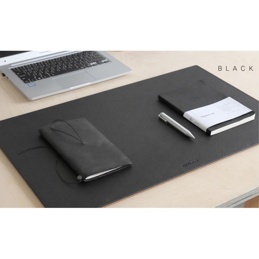 사무실 인테리어 데스크메트 L/블랙 마우스장패드 키보드매트 책상매트