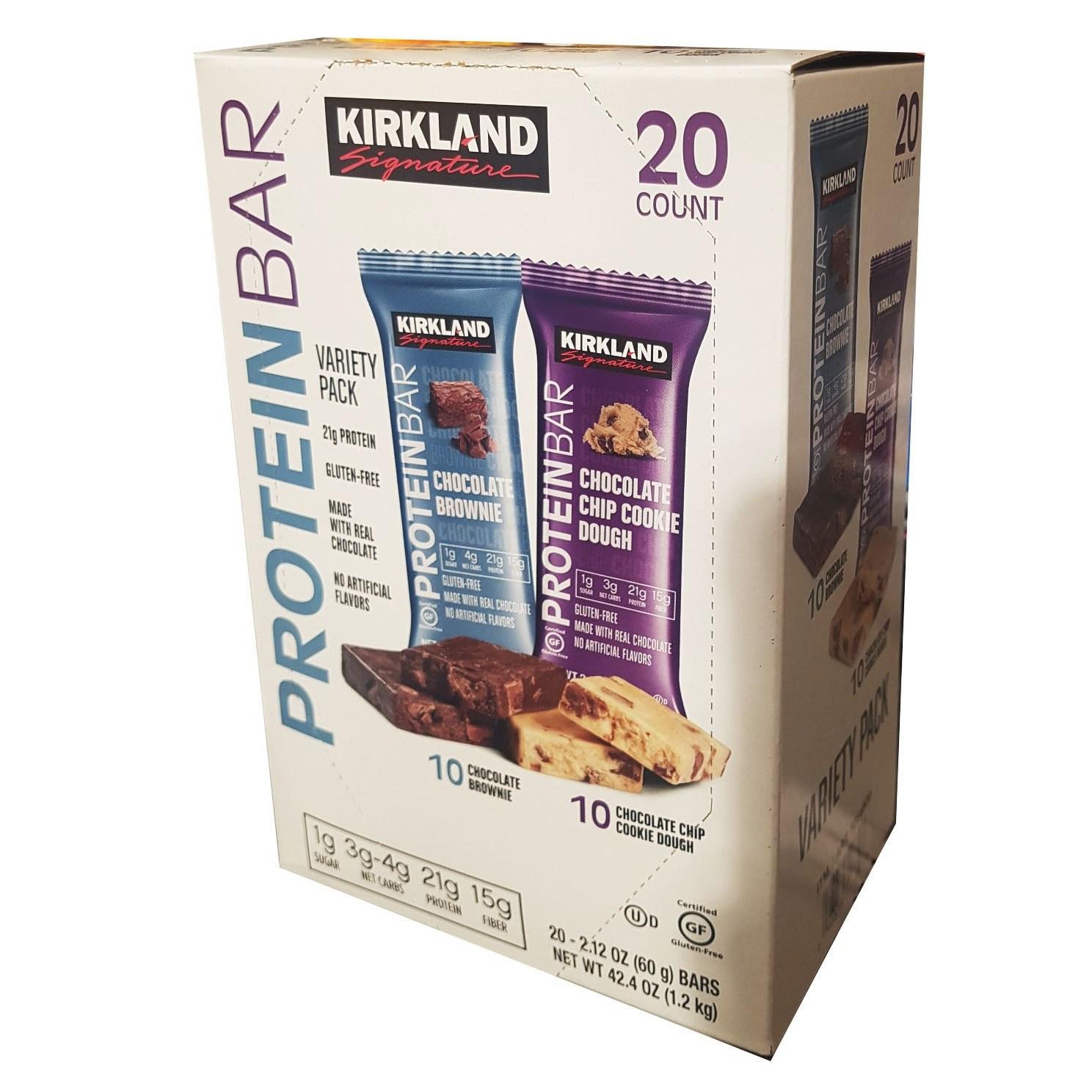 코스트코 커클랜드 프로틴바 1.2kg 20개, 1box