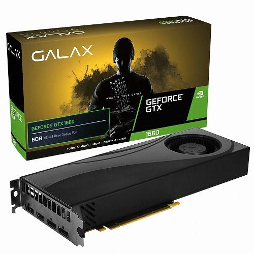 갤럭시 GALAX 지포스 GTX1660 D5 6GB BLOWER
