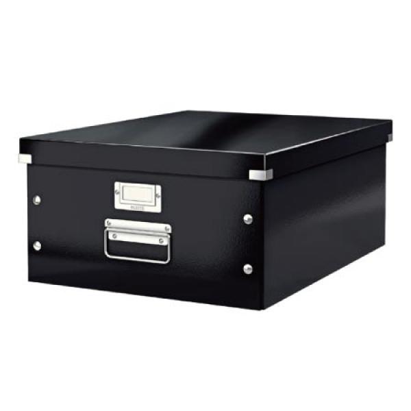 USM124870(안사면 후회)블랙 LEITZ 와우클릭박스대 사무용품 문구용품 정리함 수납/오늘부터 맥가이버, 본상품 선택