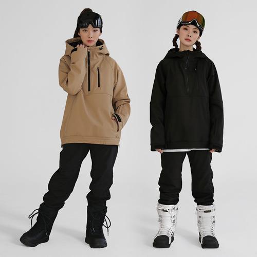 FREELY 하프앤원 아노락 자켓 스키&스노우보드복 남여공용