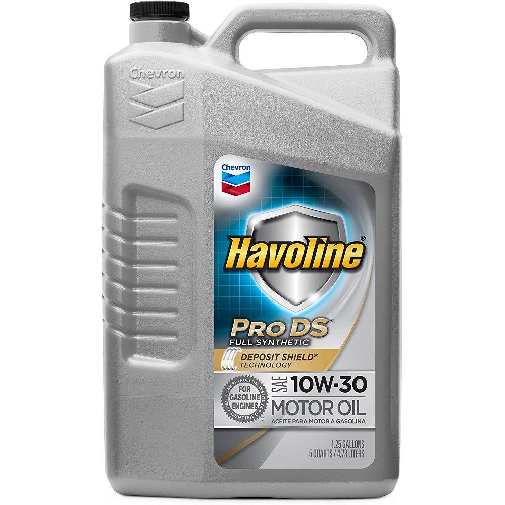 HAVOLINE Havoline PRO DS 전체 합성 10W30 오일 5쿼트, 5 Quart