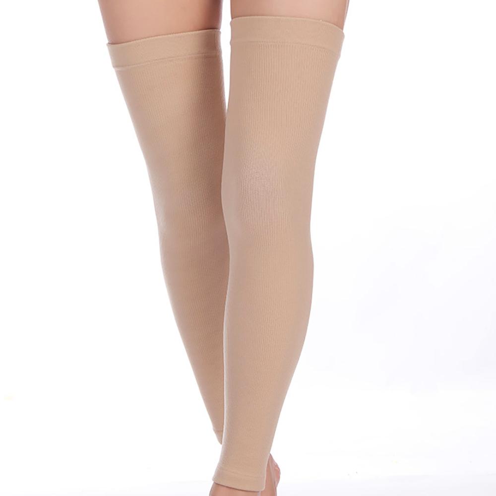 겨울 발 토시 여성 니랩 레그 워머 슬리브 롱 무릎 보호 종아리 다리 허벅지 보온 스킨S