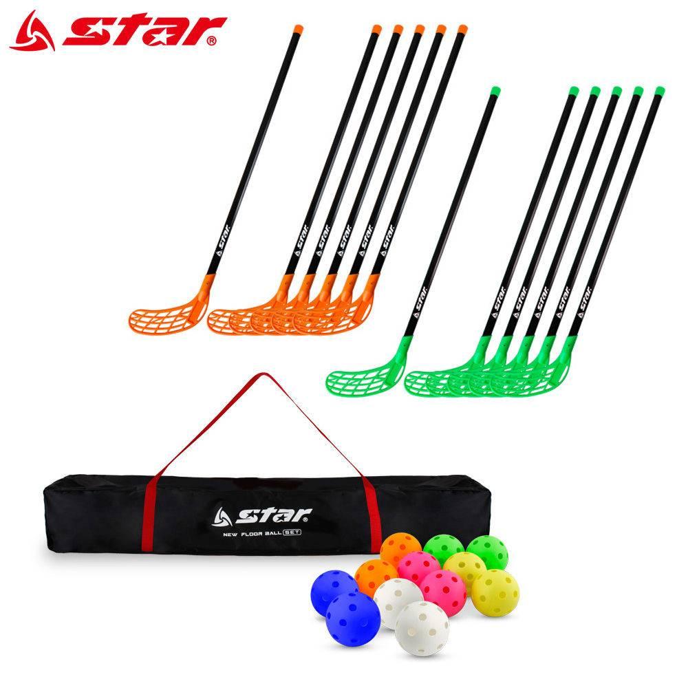 [C.S] 스타스포츠 플로어볼 뉴 세트 (NXR110) 플로어볼스틱 플로어스틱 플로어볼 플로어 스틱, 단일상품(THZ3408)