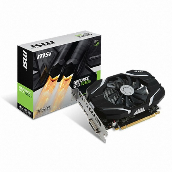 TWO1MALL [MSI] GeForce GTX1050 Ti OC D5 4GB 스톰 그래픽카드, 597708