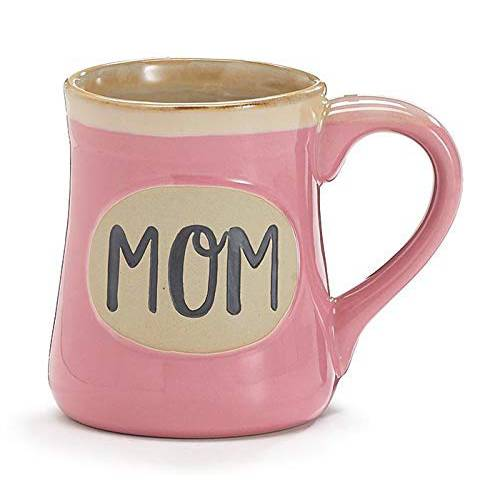MOM MIRACLE WORKER JOB TITLE PINK MUG, 상세내용참조