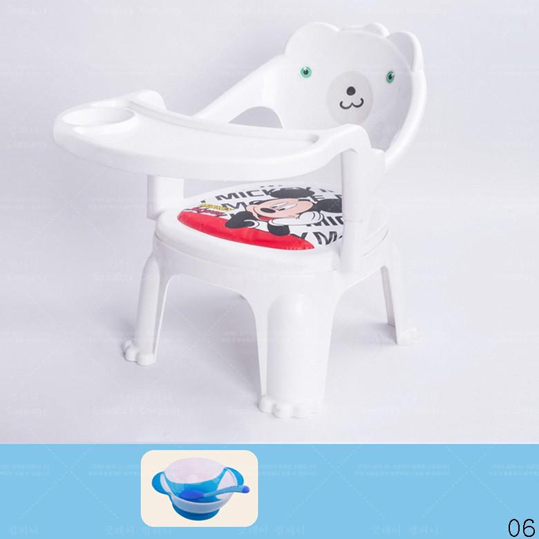 굿데이 컴퍼니 다용도 사랑스럽다 발편한 아기 등받이 의자 식탁 가정용 스툴 sY02, 06