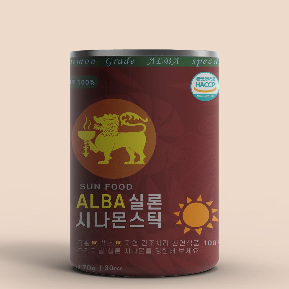 랑카스 실론 시나몬 스틱 ALBA등급 스리랑카 대용량 210g