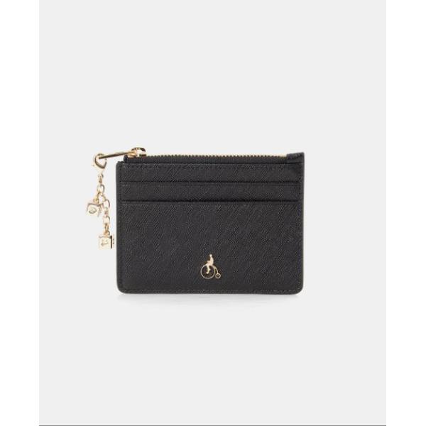 [현대백화점][빈폴ACC] BE01A4T055 20SS 루시 카드지갑 - Black