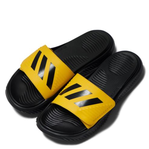 아디다스 알파바운스 슬라이드 옐로우블랙 FX1327