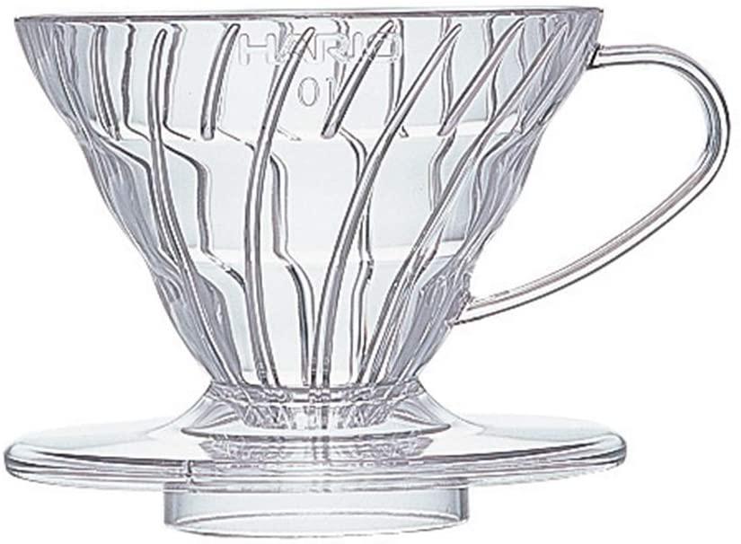 [이라운드몰]하리오 커피 드리퍼 클리어 커피 여과기 VD-01T (1~2잔용), 단품