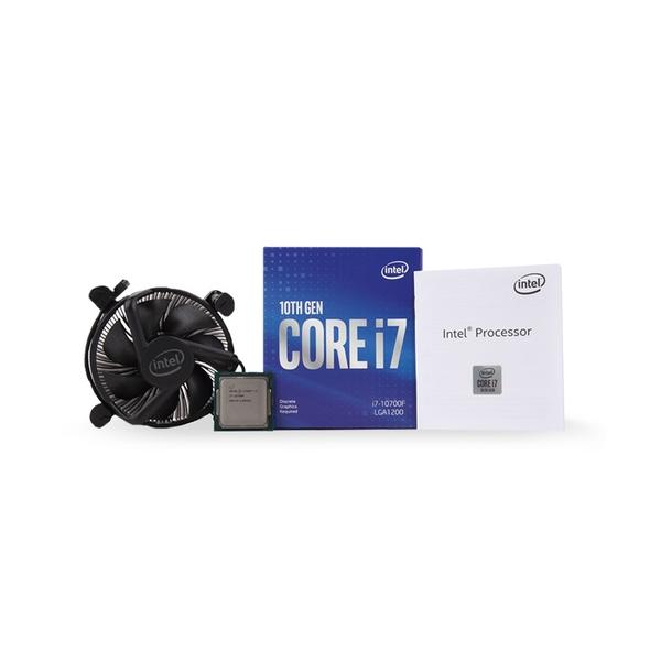 인텔 코어i7-10세대 10700F (코멧레이크S) (정품), 단일상품