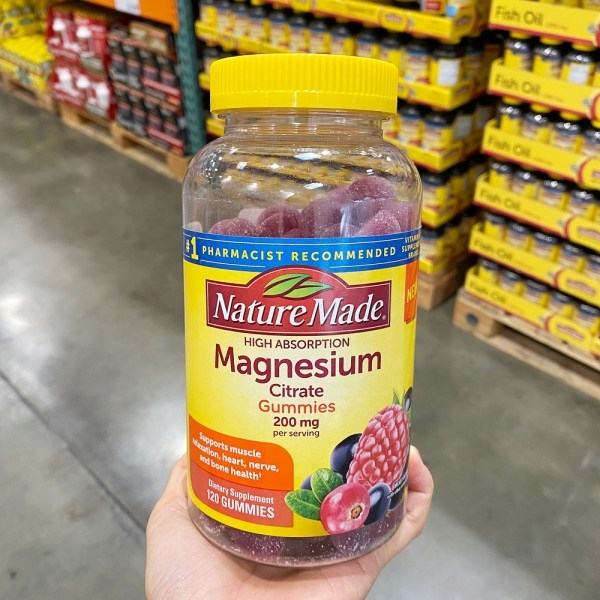 네이쳐메이드 구연산 마그네슘 200mg 120구미