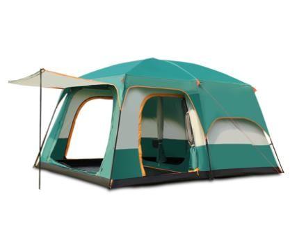 야외 캠프 투룸 텐트 캠핑 2실_도매, 01중간 사이즈