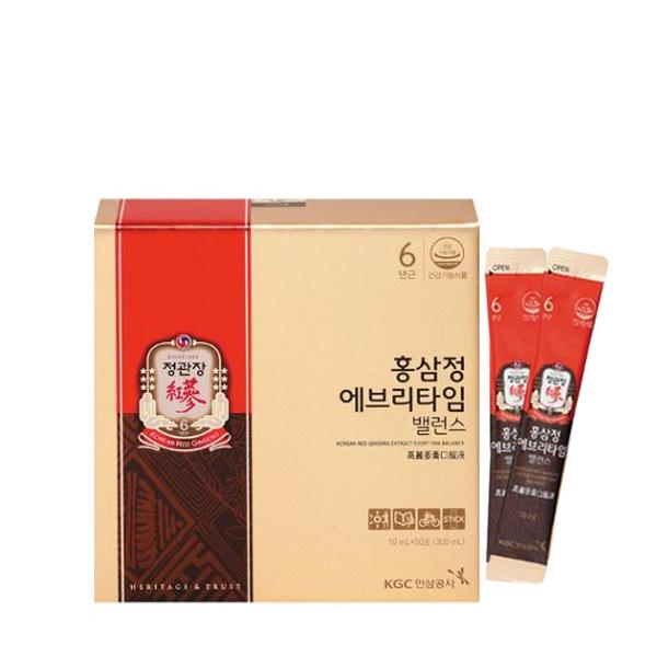 [정관장]홍삼정 에브리타임 밸런스 30포/4+1박스 총5박스, 없음, 상세설명 참조