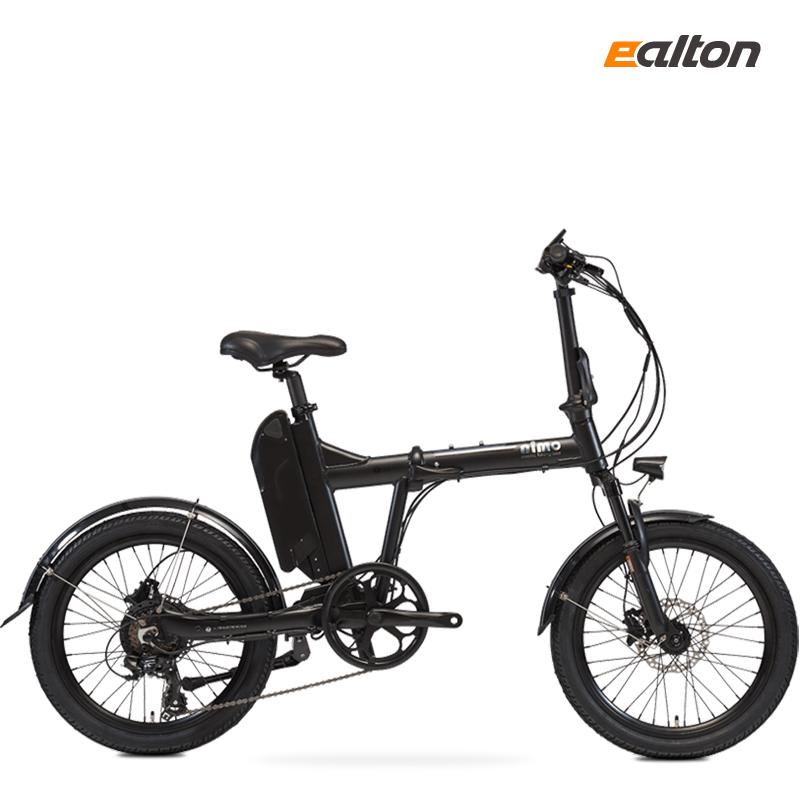 2021 알톤 니모 FD 에디션 12AH PAS 스로틀겸용 전동 전기자전거, 2021 니모FD 에디션 - 무광블랙, 무료조립+무료배송+13종 사은품 (POP 4916135754)