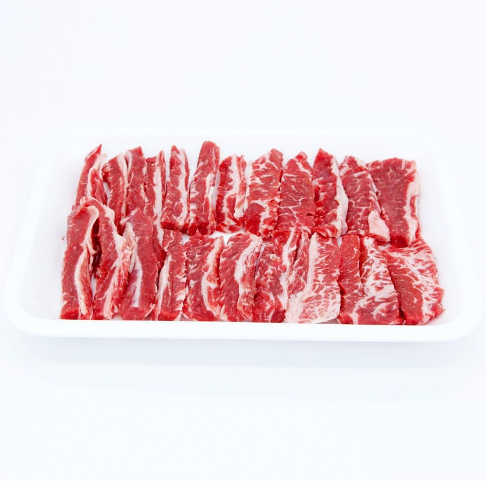 친절정육점 초이스급 소갈비살 500g, 1개, 구이용(500g)