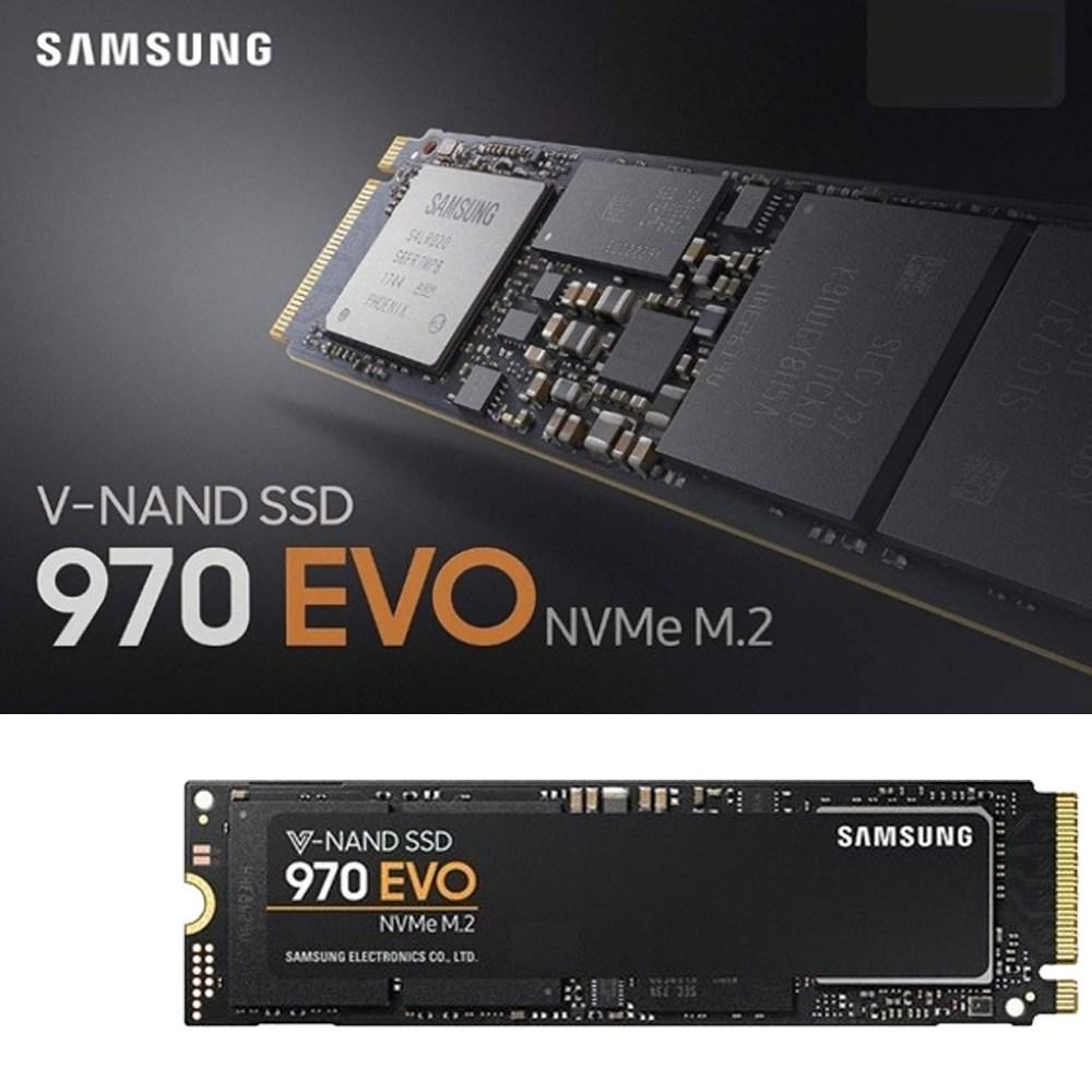 삼성전자 삼성 970 EVO NVMe M.2 2280 정품 500G SSD, 500GB, 삼성 970 EVO M.2 정품,500G