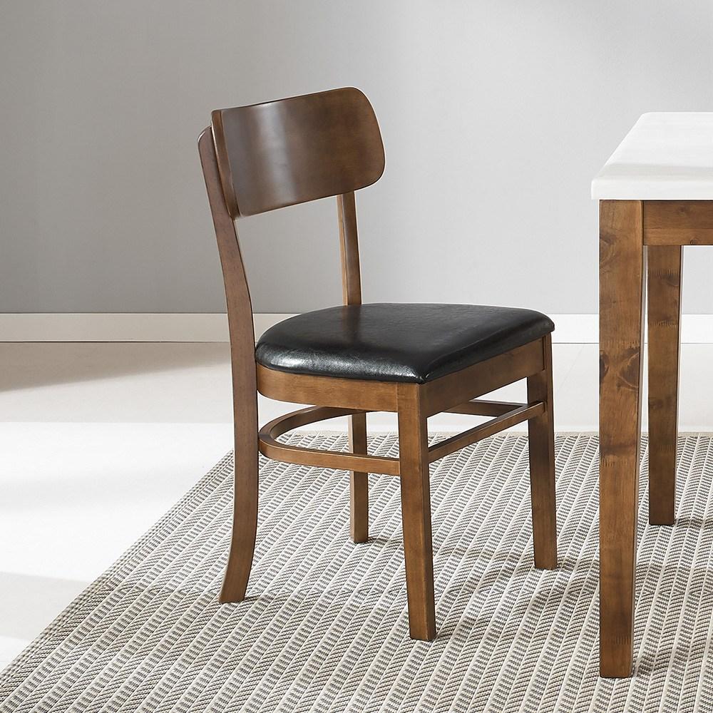 라로퍼니처 빈츠 원목 식탁의자 커피숍의자 카페의자 인테리어의자, 단품