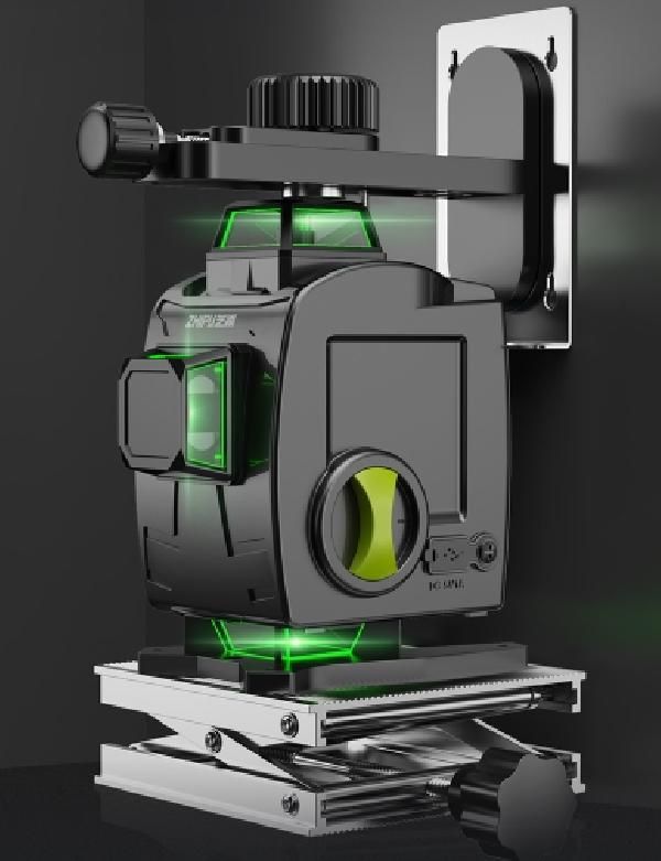 이퍼피 초정밀 레이저 레벨기 8라인 12라인 측정기 수평기, 1번 세트 1개