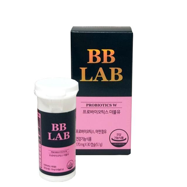 뉴트리원 전지현 프로바이오틱스 W 여성 질 유산균, 1박스, 30캡슐