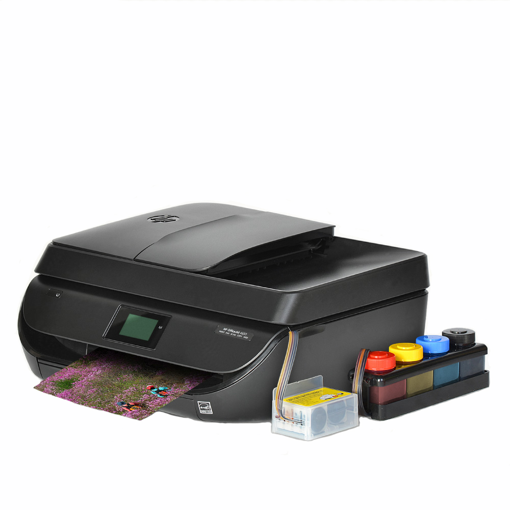 HP 오피스젯 4650 무한잉크복합기 팩스복합기 프린터 잉크젯 복합기, HP4650 무한잉크 팩스복합기 + 350ML