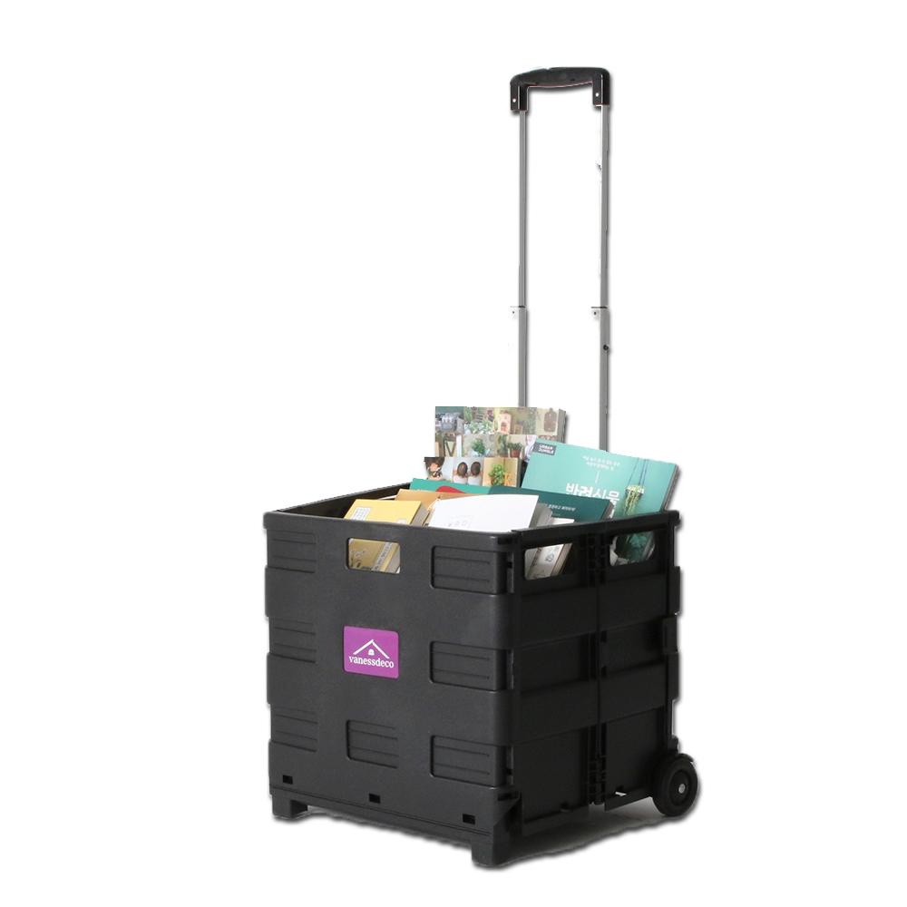 바네스데코 접이식 마트 장바구니 베니 핸드 카트 50L 35kg, 본품
