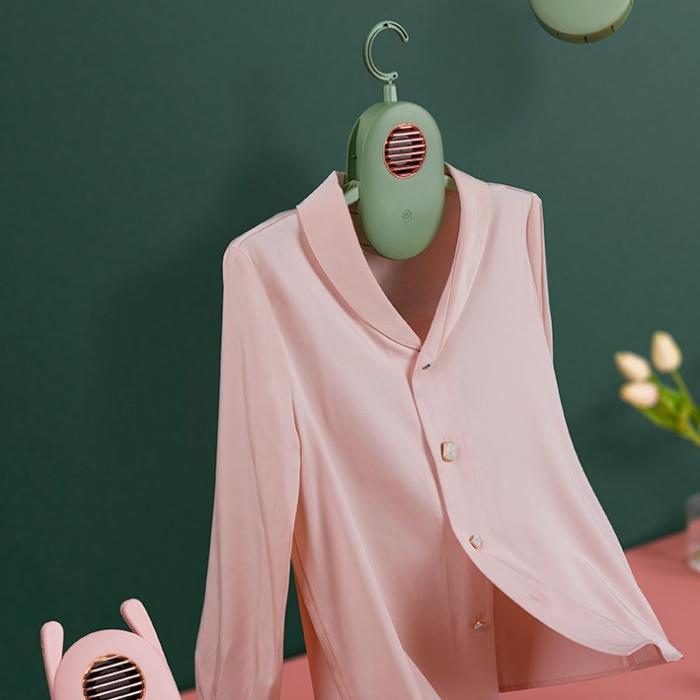 [그린북마켓] 미니스타일러 홈드라이 아웃핏터 옷걸이형, 화이트