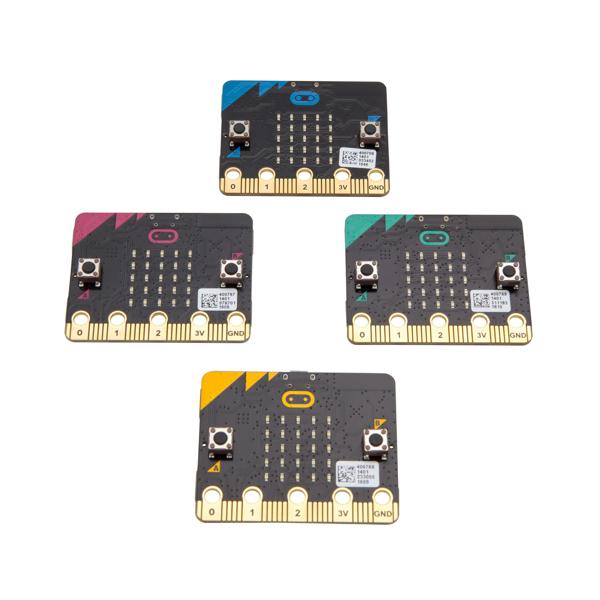 MICROBIT 마이크로비트 초소형 미니 컴퓨터 단품 벌크팩, 옵션없음