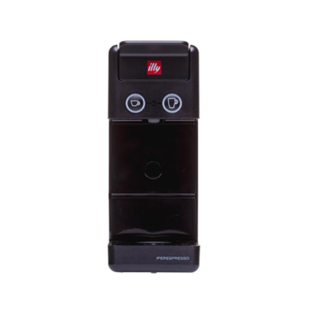 일리 커피머신 Y3.3 (블루 레드 화이트), 블랙