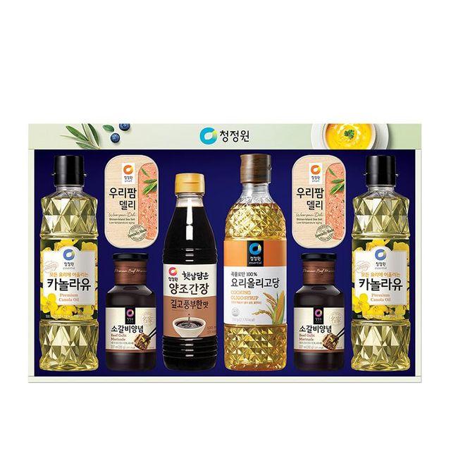 한가위 행복한 2020 추석 선물세트 청정원 스페셜 8호 올리브유 청정원선물세트 세트 oypz, 1개