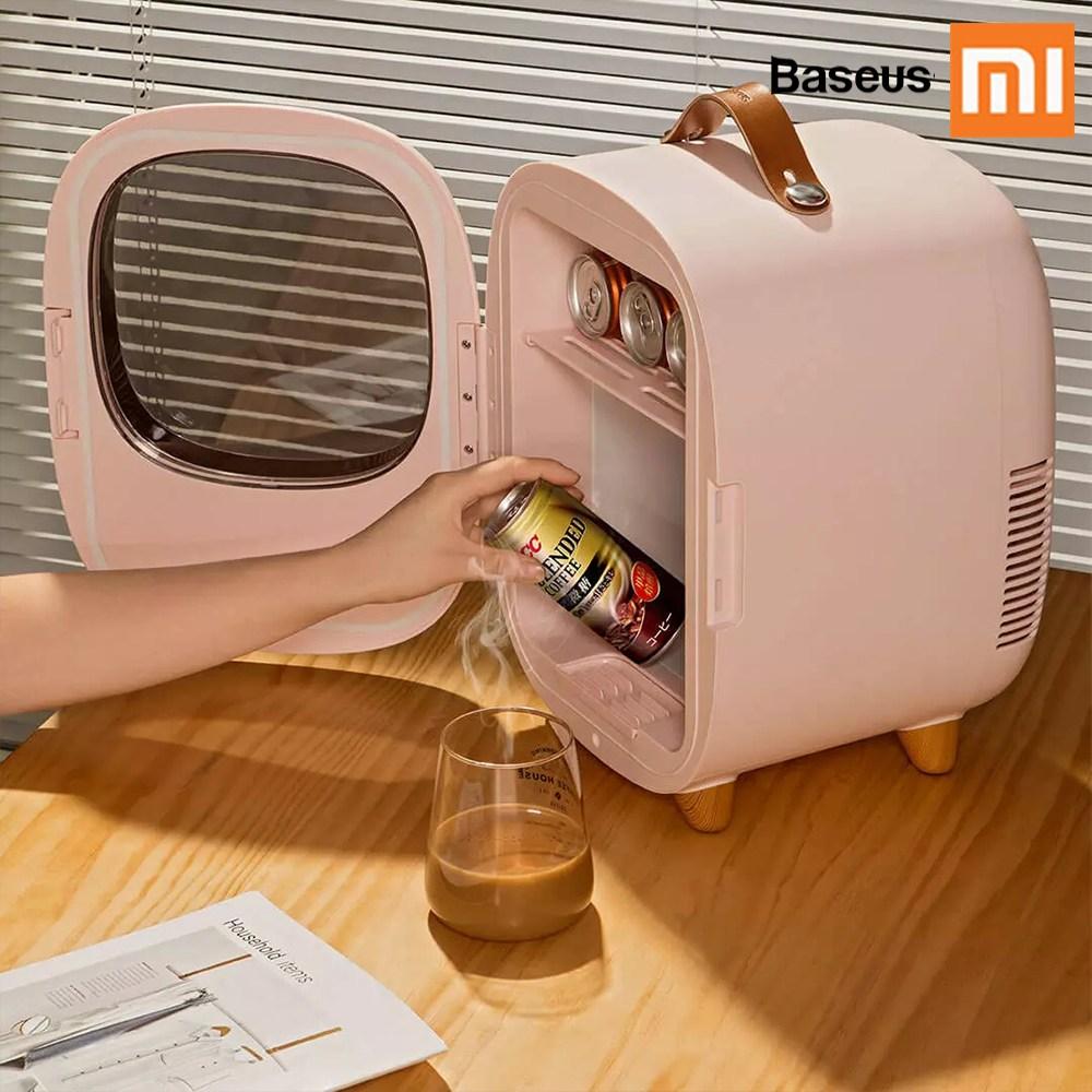샤오미 Baseus 미니냉장고 캠핑용 냉장고 8L 대용량 저소음, 샤오미 Baseus 미니냉장고 화이트