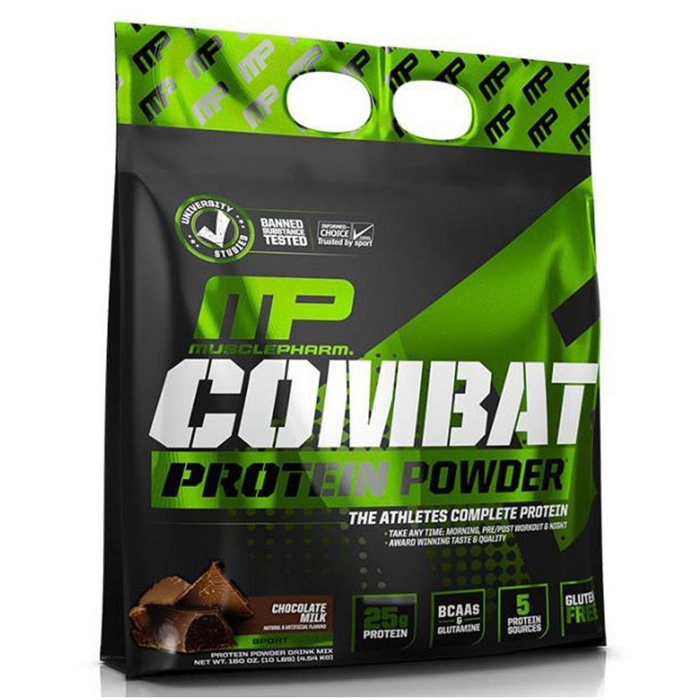 Muscle Pharm 컴뱃 100% 웨이 프로틴 2.72kg, 1팩