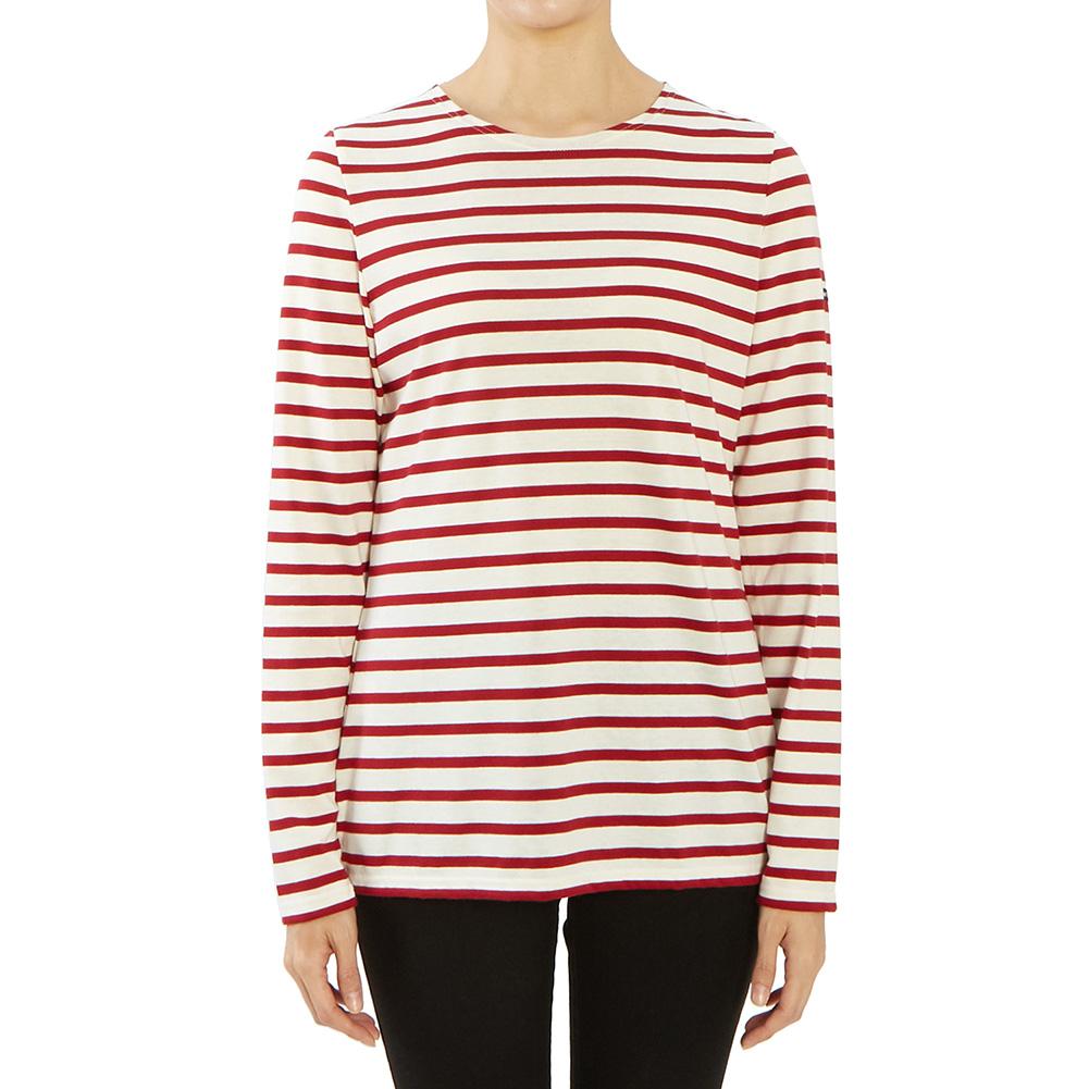 세인트제임스 밍콰이어 스트라이프 0237 OU 여자 긴팔티셔츠 긴소매