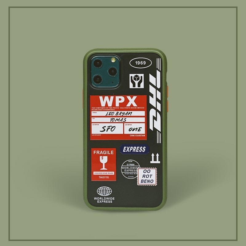 DHL 그린 팝 아트 디자인 투명 휴대폰 케이스/아이폰케이스/휴대폰케이스/스마트폰케이스/핸드폰케이스/폰케이스/투명케이스/팝/아트/디자인