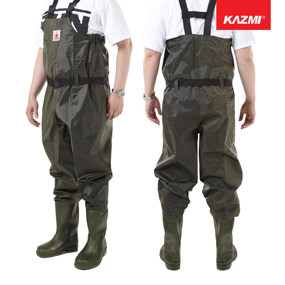 카즈미 가슴장화 K5T3V035 낚시장화 갯벌장화 해루질장비 장화, 단품