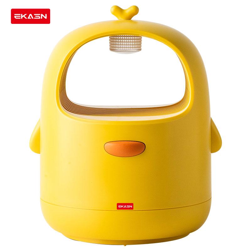 ekasn LED 침실 거실 전기 흡입식 해충 모기 퇴치기 아이방 선물용 집 꾸미기 큐티 물리적인 유인 여름, W1