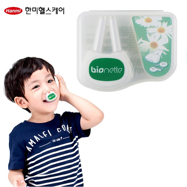 한미약품 바이오네트 비염치료기+일회용 알콜솜 100매(1박스)
