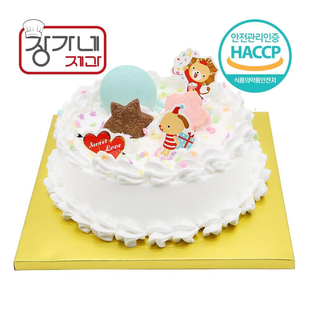 장가네제과 케익DIY 기념 케이크만들기세트 1호, 1set