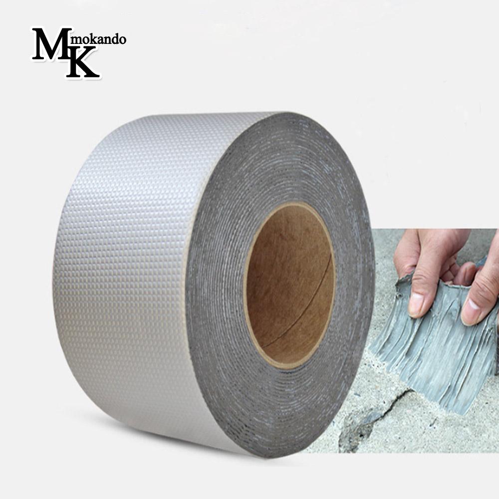 모칸도 부틸 방수테이프 초강력 만능테이프 4가지사이즈, 부틸방수테이프(폭5cm x 길이5m)