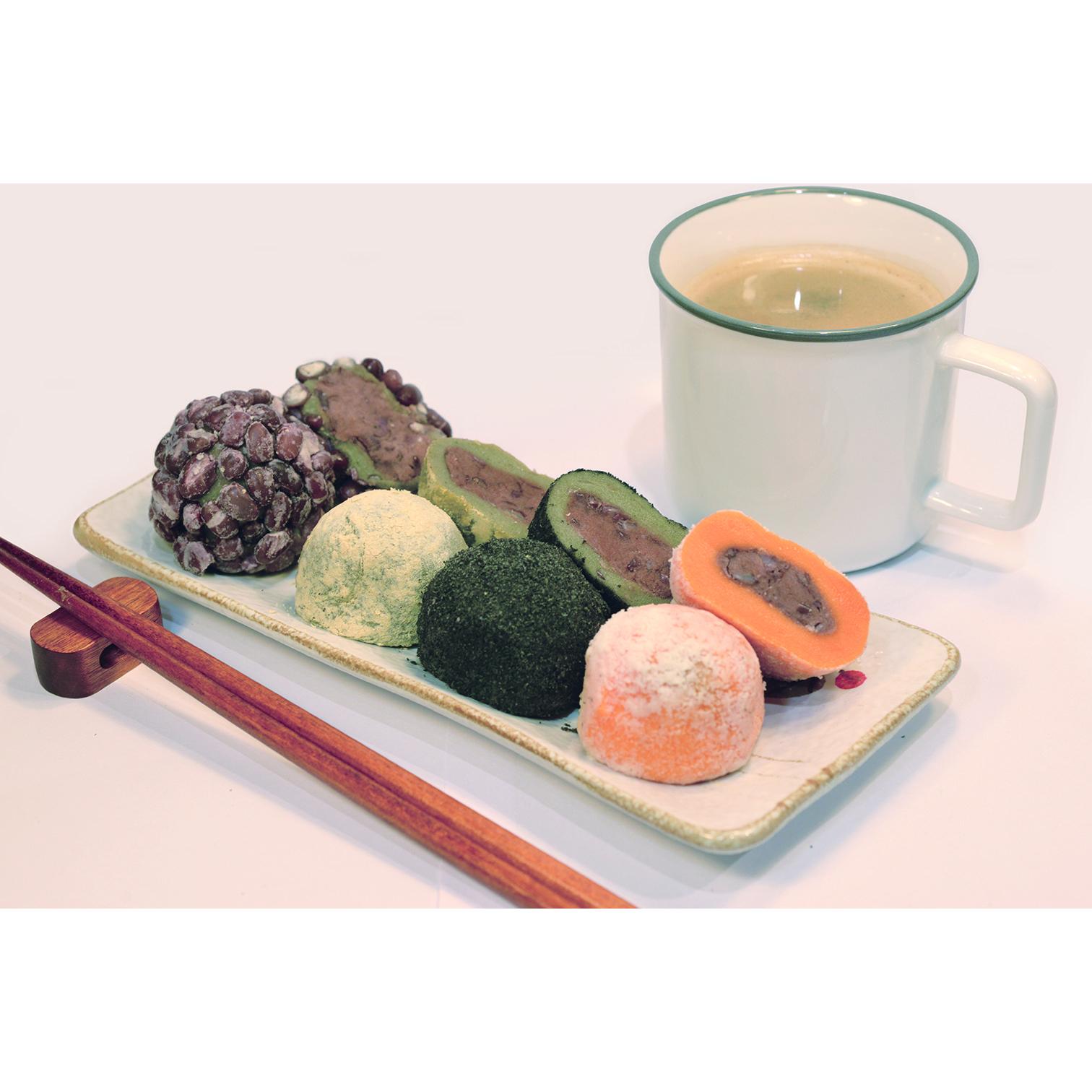 제주 수가성 오메기떡 혼합(통팥 흑임자 콩고물 감귤 견과류), 혼합 30개, 50g