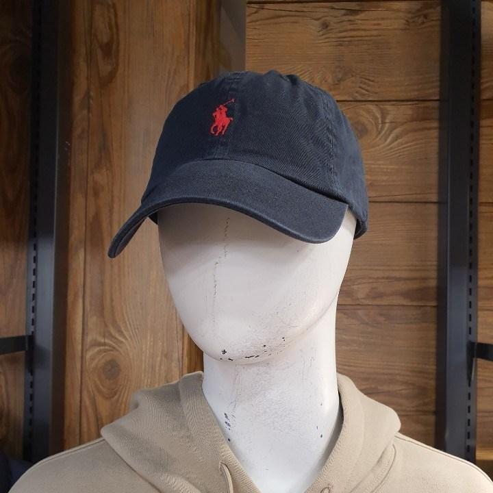 [NC픽스] [폴로] 남여공용 코튼 자수 로고 볼캡 모자