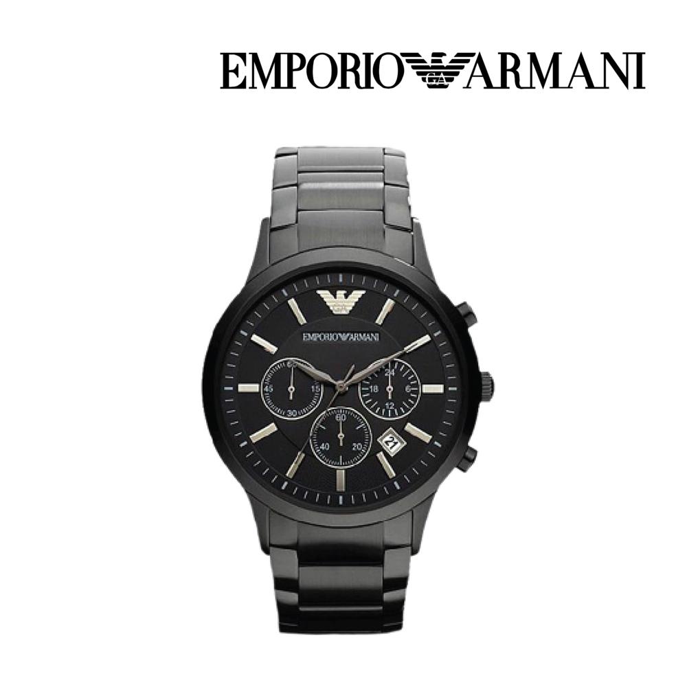 엠포리오 아르마니 남자 메탈 손목시계 AR2453