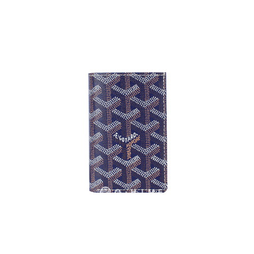 고야드 [고야드] 카드&지폐 지갑 생피에르 스페셜-네이비
