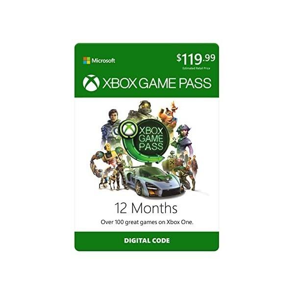 Xbox Game Pass: 12 Month Membership [Digital Code], 상세 설명 참조0, 12 Months