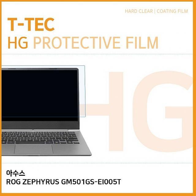 윤성커뮤니케이션 T 아수스 ROG ZEPHYRUS GM501GS-EI005T 고광택 액정보호필름 노트북 보호필름, 1