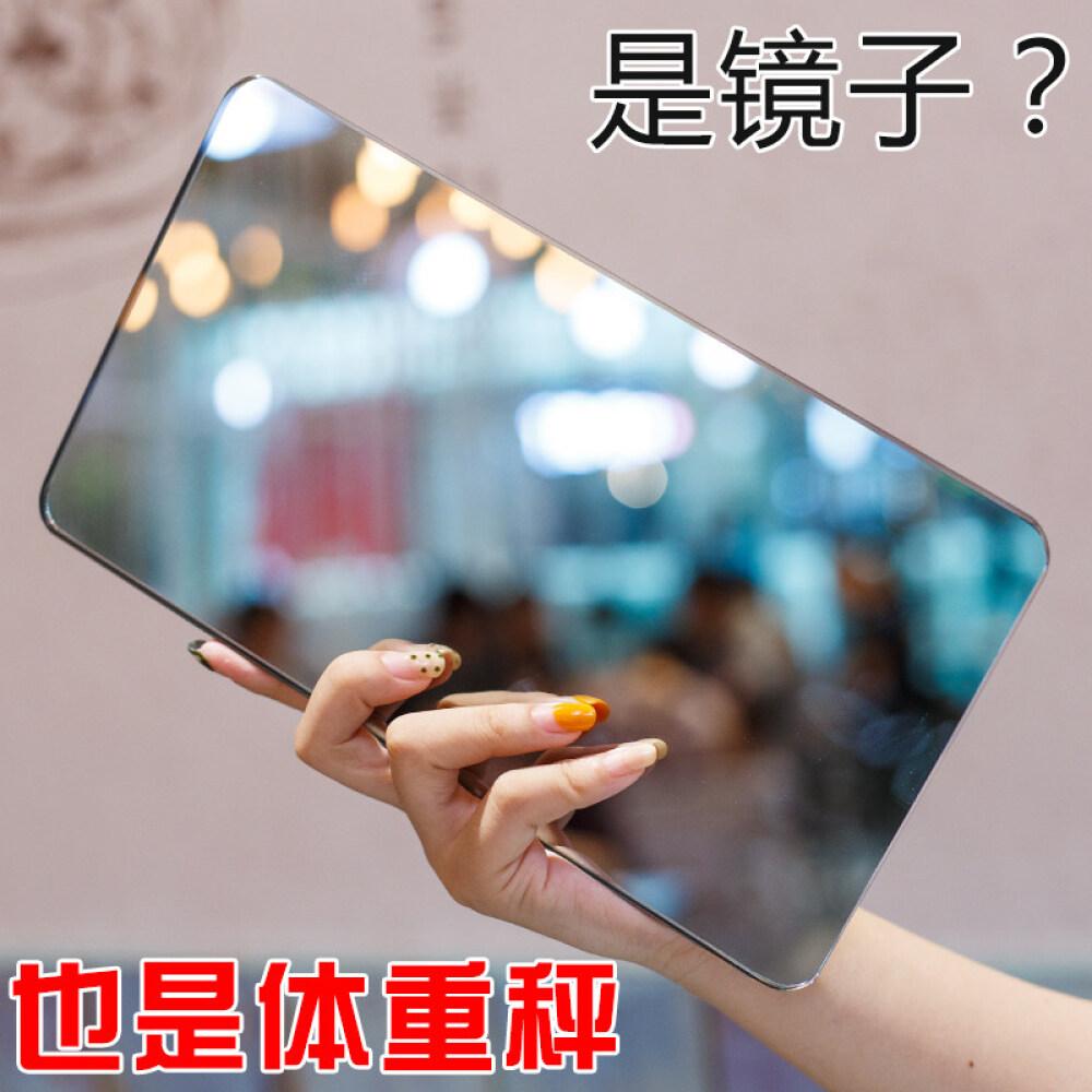 others 휴대용 전자 체중계 여자 기숙사 소형 여행 충전 인체 저울 미니 정밀 거울 은 전지, 상세페이지 참조, 상세페이지 참조