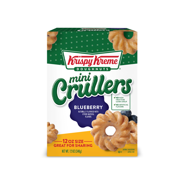 크리스피 크림 도넛 크럴러 블루베리 12개입, 340g